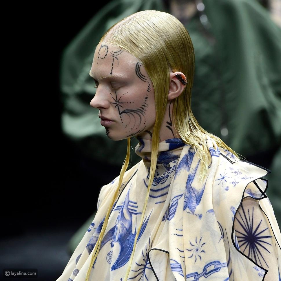 فن الرسم على الوجه في مجموعةJean-Paul Gaultier
