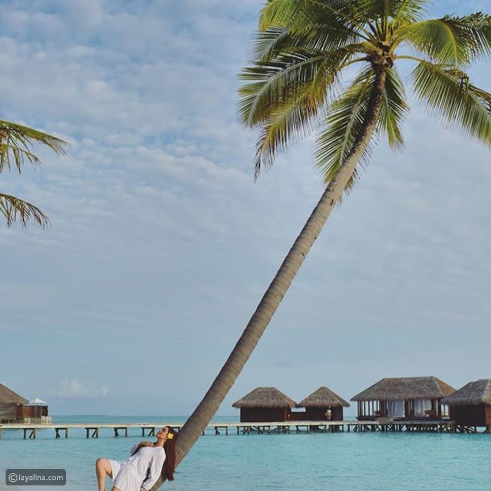 لهذا السبب اختارت نسرين طافش المالديف لقضاء إجازتها الصيفية