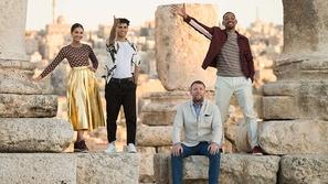 فيديو|ويل سميث ومينا مسعود يروجون لفيلم Aladdin في الأردن