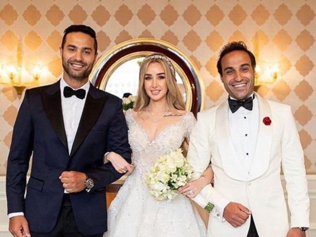 أحمد فهمي وهنا الزاهد يشعلان انستقرام بصورهما العفوية من شهر العسل