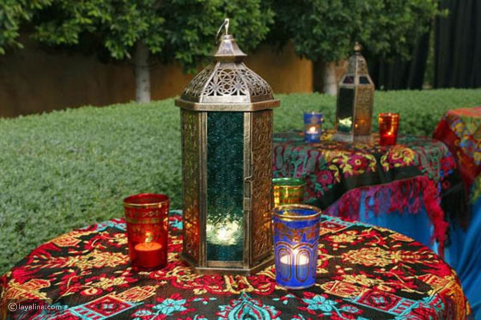 مفرش مائدة رمضان