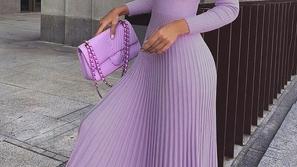 طرق متنوعة لتنسيق اللون البنفسجي لإطلالة ساحرة بحسب آخر صيحات الموضة