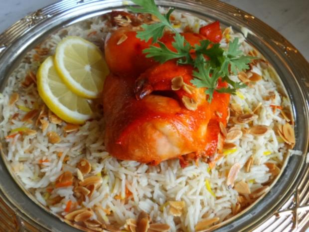 طريقة تحضير الرز البخاري الأفغاني