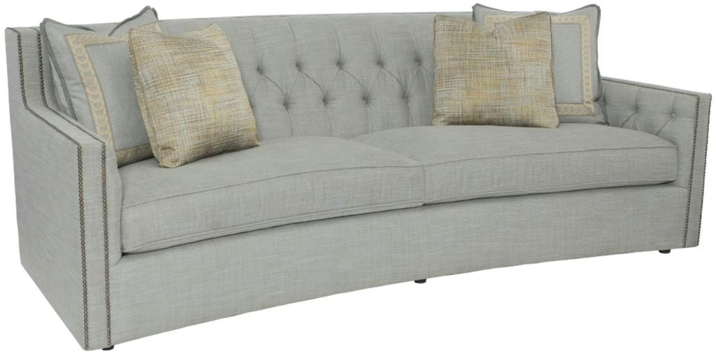 أريكة CANDACE باللون الأزرق من علامة BERNHARDT