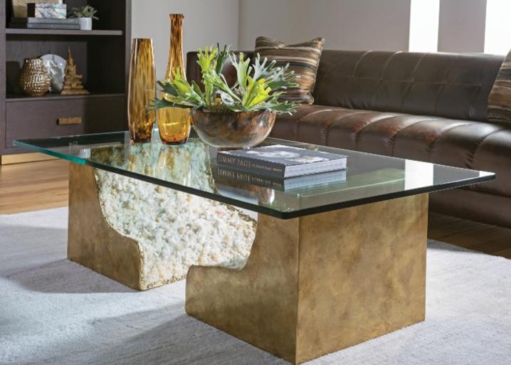 طاولة كوكتيل بتصميم مستطيل من علامة LEXINGTON