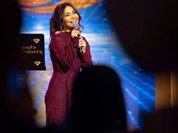 شيرين عبد الوهاب من حفلها في الكويت