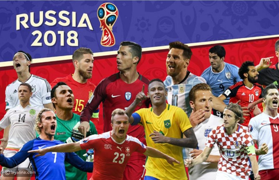 """اختبار: أي من نجوم لاعبي كرة القدم في """"مونديال روسيا 2018"""" يشبهك؟"""