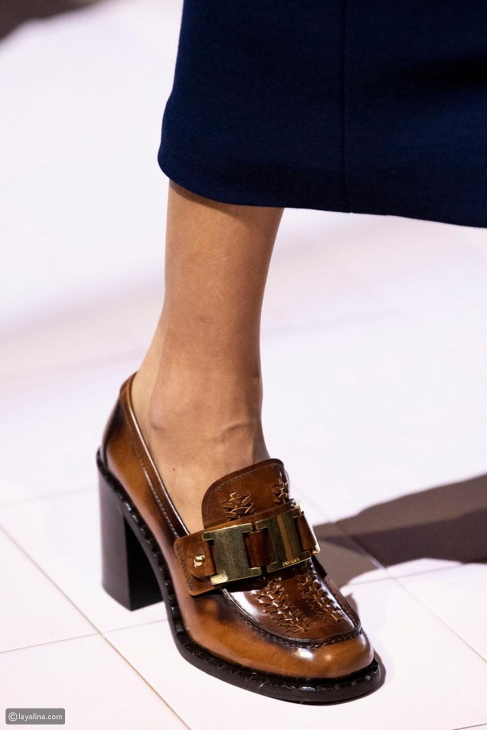 حذاء Loafers من برادا prada