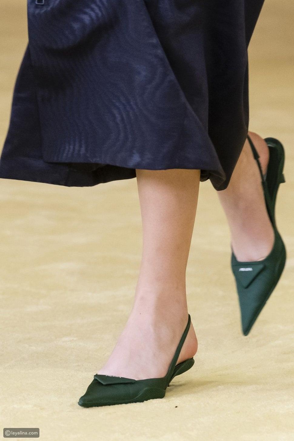 أحذية بكعوب قصيرةKitten Heels
