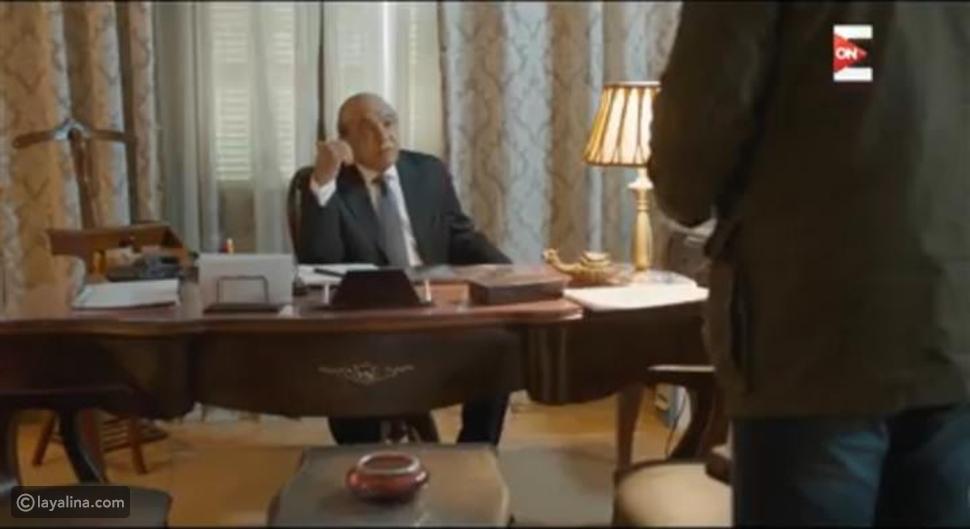 هاجي الجيار في مشهد من مسلسل الزيبق