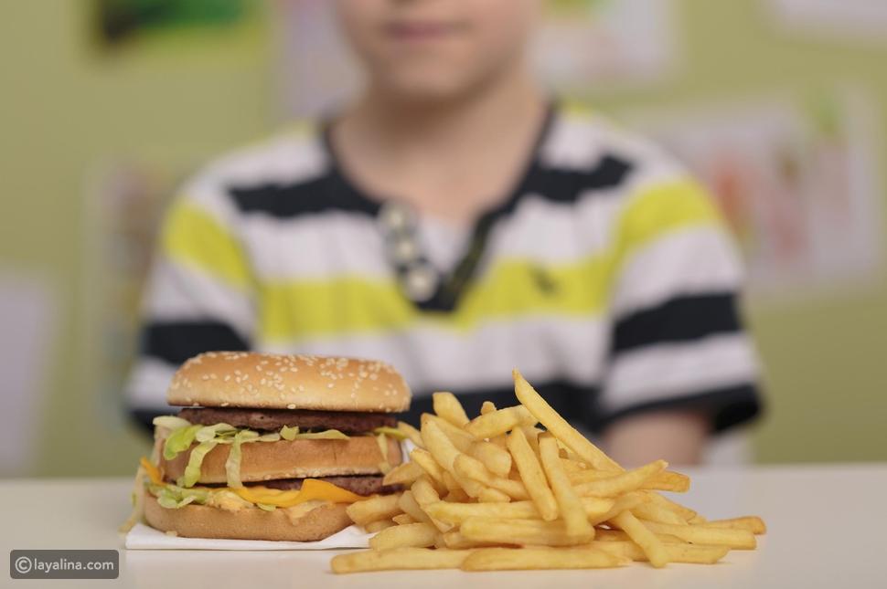 انقاص وزن الأطفال