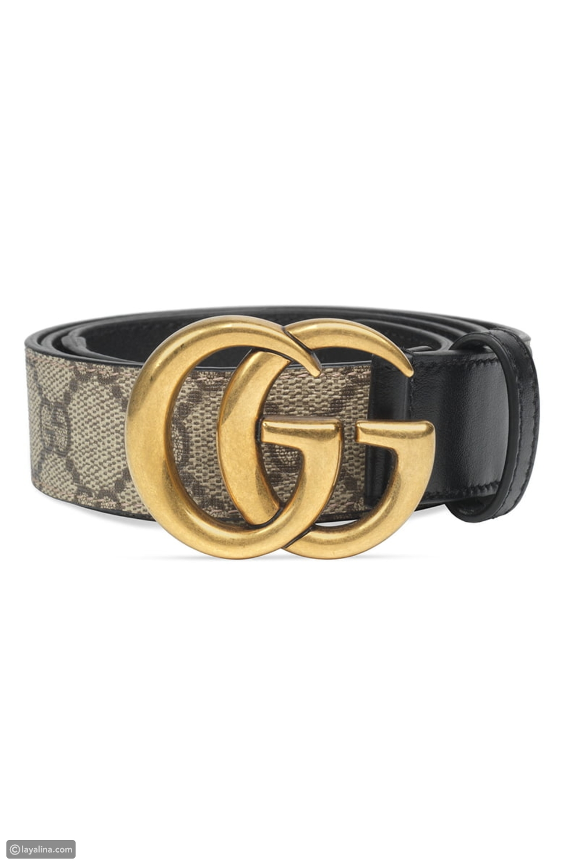Gucci GG Supreme Womens Belt