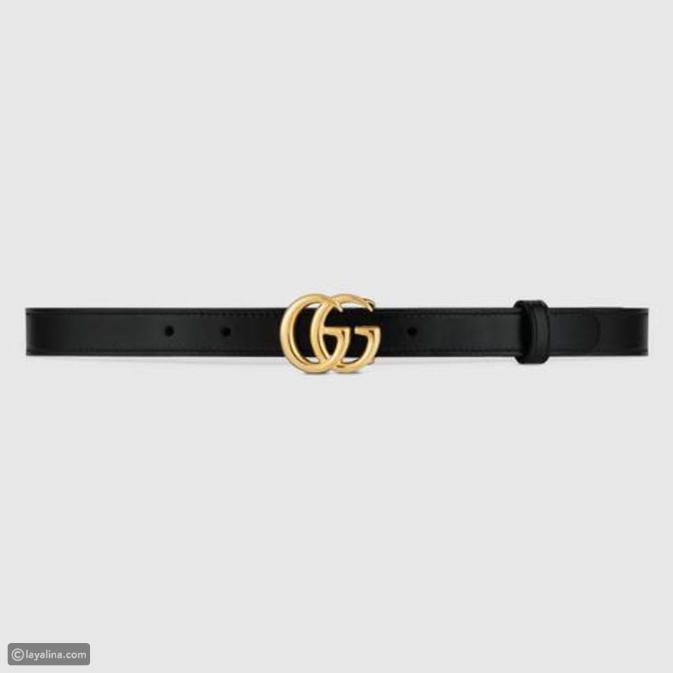 2. Gucci Marmont 2cm Belt