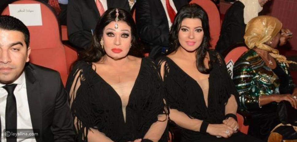 صور فيفي عبده وابنتها بأغرب إطلالة في حفل ختام مهرجان القاهرة