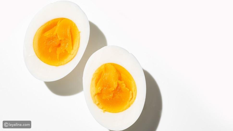 فوائد البيض المسلوق  صباحاً