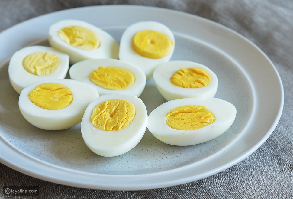 فوائد البيض المسلوق  للمرضع