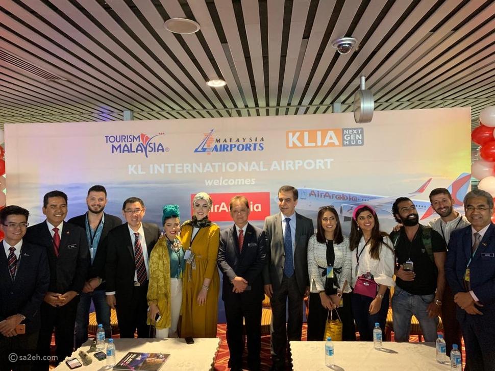 للمرة الأولى رحلة مباشرة من الشارقة إلى ماليزيا عبر العربية للطيران