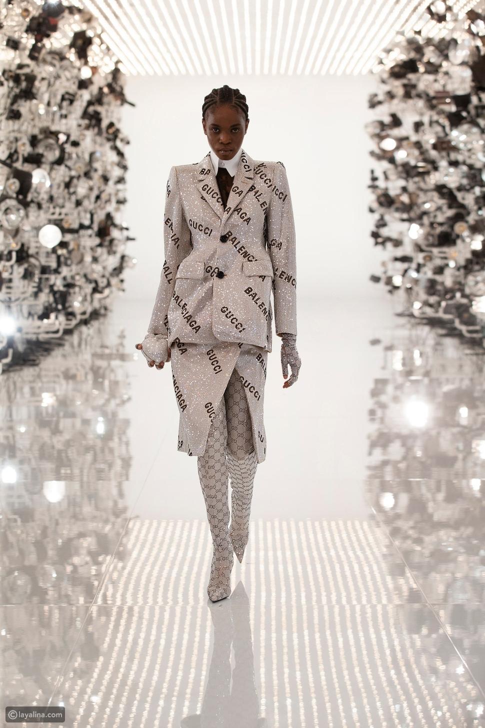 ملاحظات على مجموعة Gucci الاحتفالية باليويبيل الذهبي مع Balenciaga