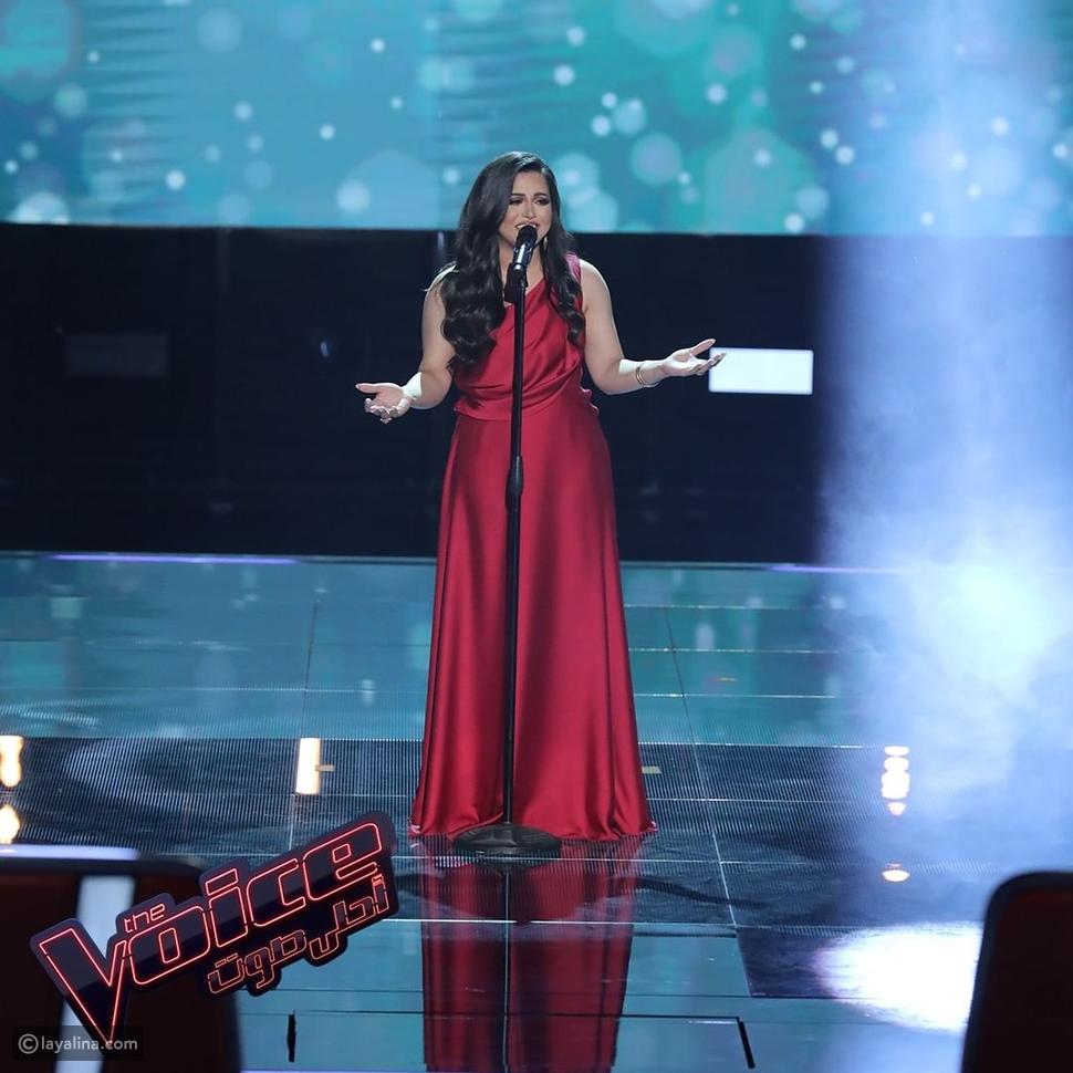 إيمان عبد الغني تصدم حكام ذا فويس بخسارتها الكبيرة في الوزن