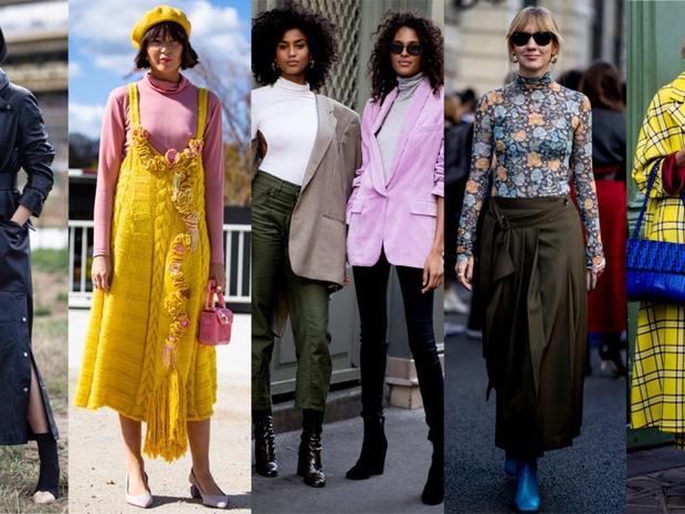 لا غنى عن البلوزات عالية الرقبة : ارتديها في الشتاء بطرق مختلفة