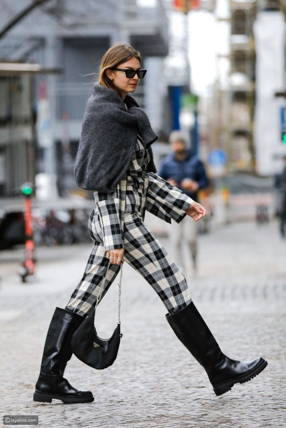 ارتديالأحذية الشتوية المريحة