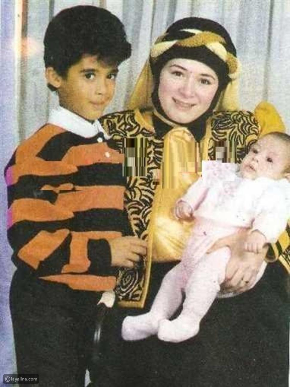 هالة فؤاد وأبنائها