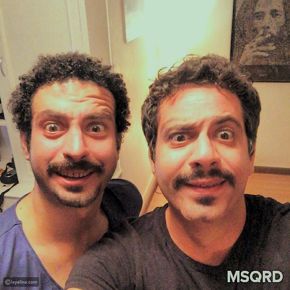 صورة محمد فراج يجد توأمه الممثل المعروف! الشبه كبير بالفعل