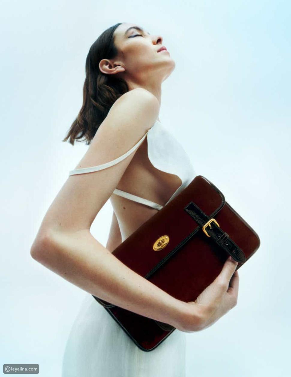 حقيبةMulberry x Alexa Chung