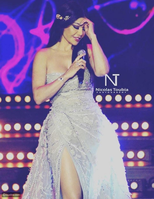 فيديو وصور هيفاء وهبي تشعل حفل ملك جمال لبنان بعفويتها وإطلالتها التي لا تقاوم