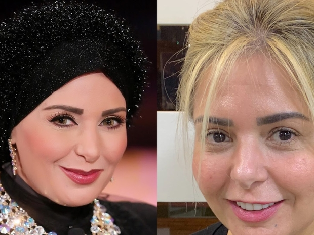 نجوم الفن والإعلام يدعمون صابرين في خلع الحجاب وينتقدون آراء الجمهور!