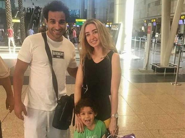 أحمد فهمي وهنا الزاهد من شهر العسل