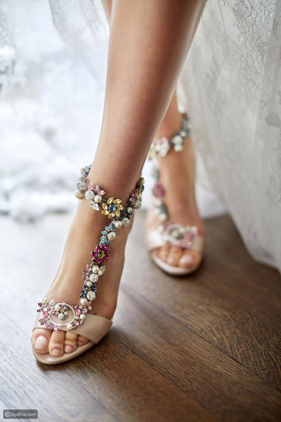 أفضل أنواع أحذية الزفاف