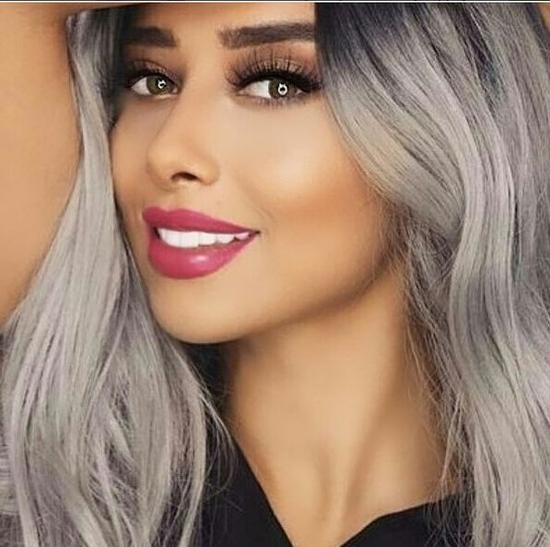 صورة بلقيس فتحي بلون شعر يثير حيرة متابعيها على انستقرام