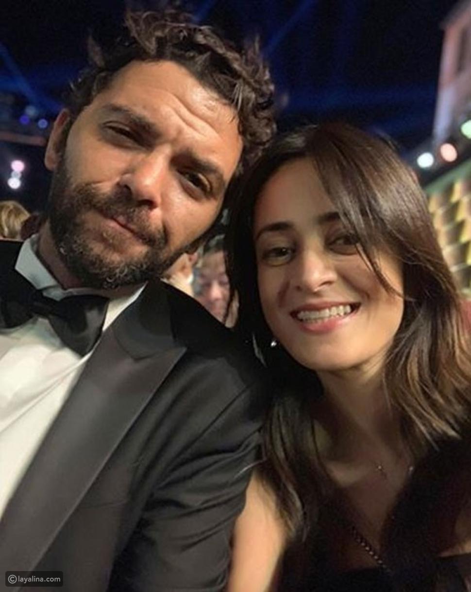 ياسمين أبو النجا مع زوجها المخرج خضر محمد خضر