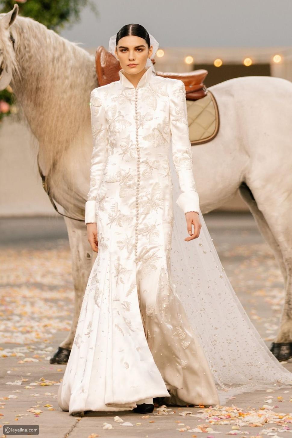 فستان العروس من Chanel