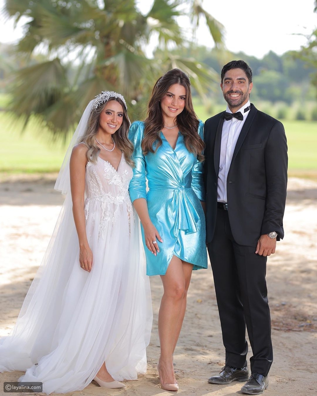 درة في زفاف هند عبد الحليم