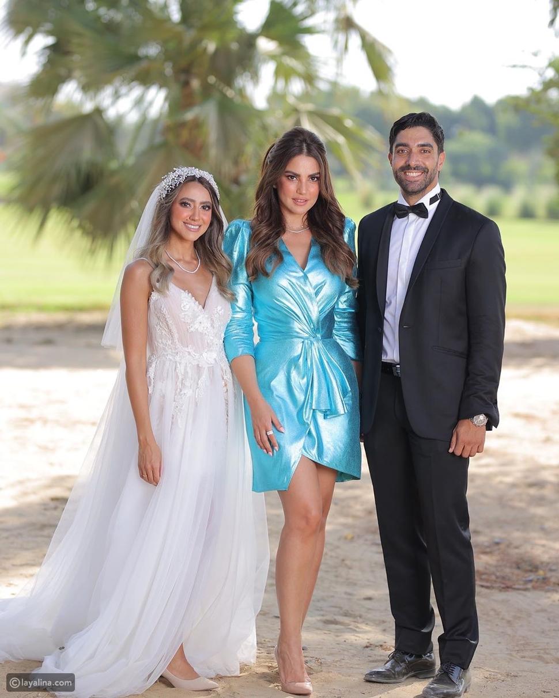 درة من زفاف هند عبد الحليم
