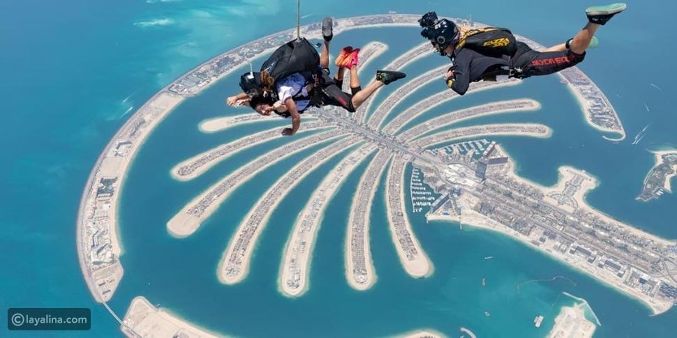 أفضل 5 مغامرات في دبي