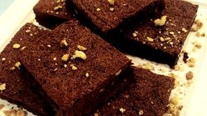 براونيز الشوكولاتة السريع من مطبخ منال العالم