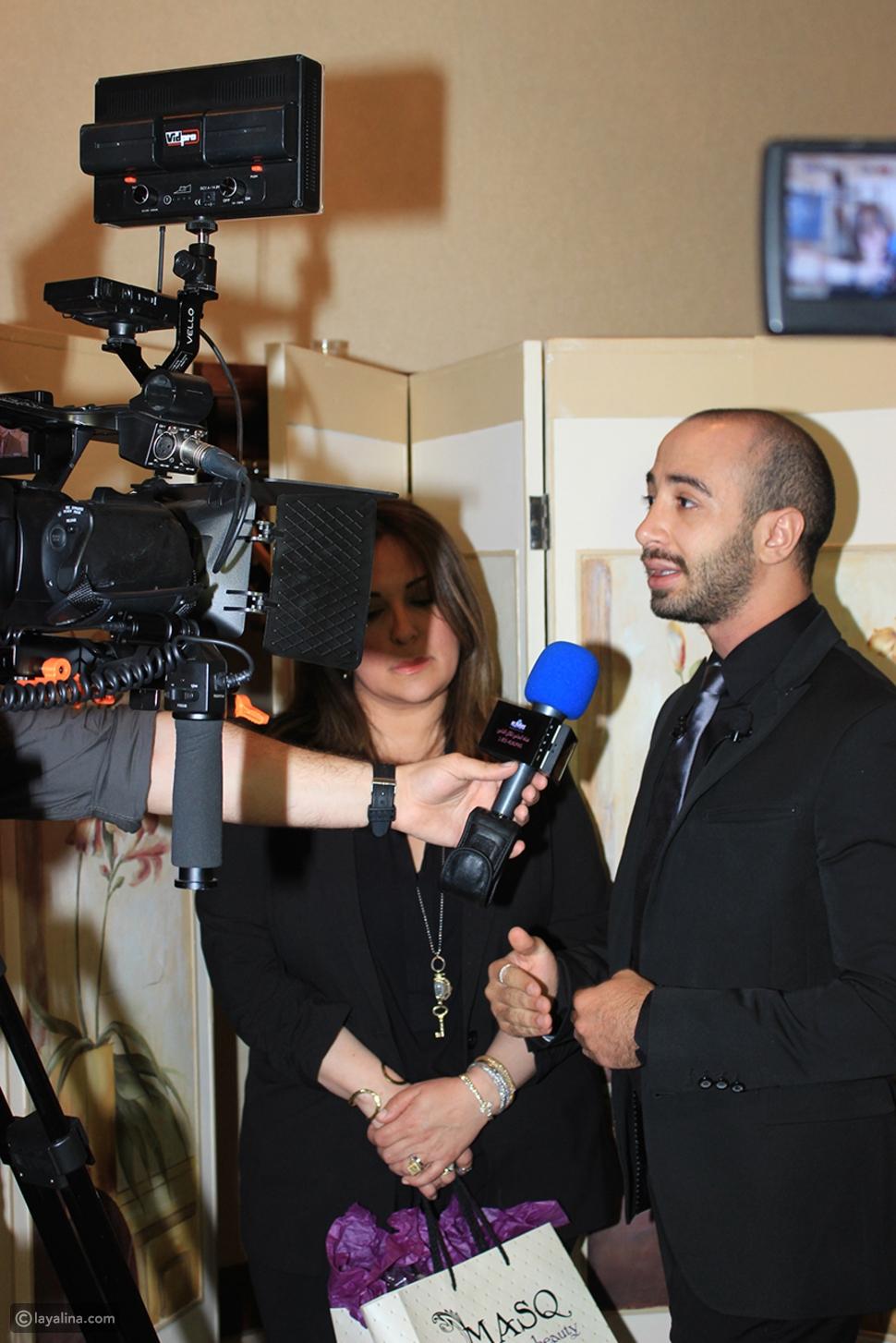 خبير التجميل اللبناني سامر خزامي يلبي دعوة أشهر خبيرة تجميل عالمية Anastasia Beverly Hills