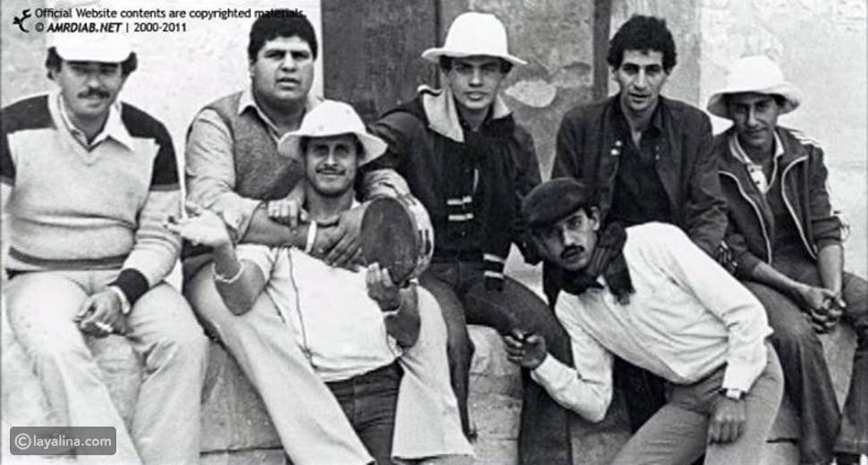 """صورة عمرو دياب بالقبعة """"البورسعيدية"""""""