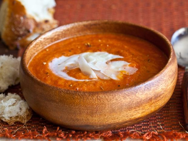 حساء الطماطم المشوية