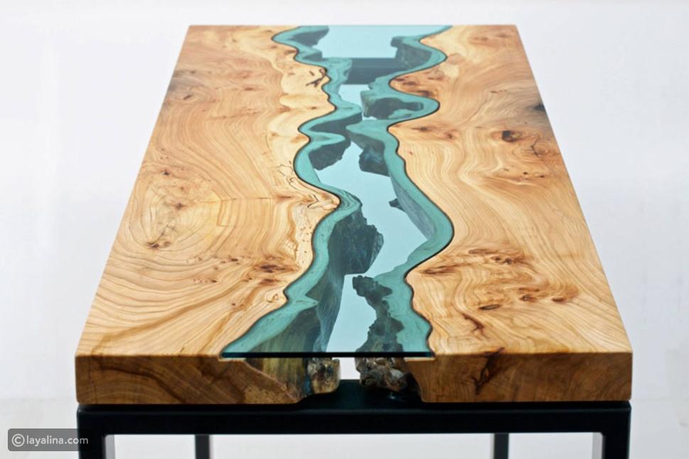أجمل تصاميم للاثاث بالخشب