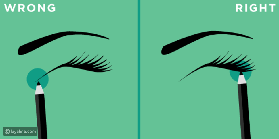 6 أفكار عبقرية لتحترفي رسم الآيلاينر