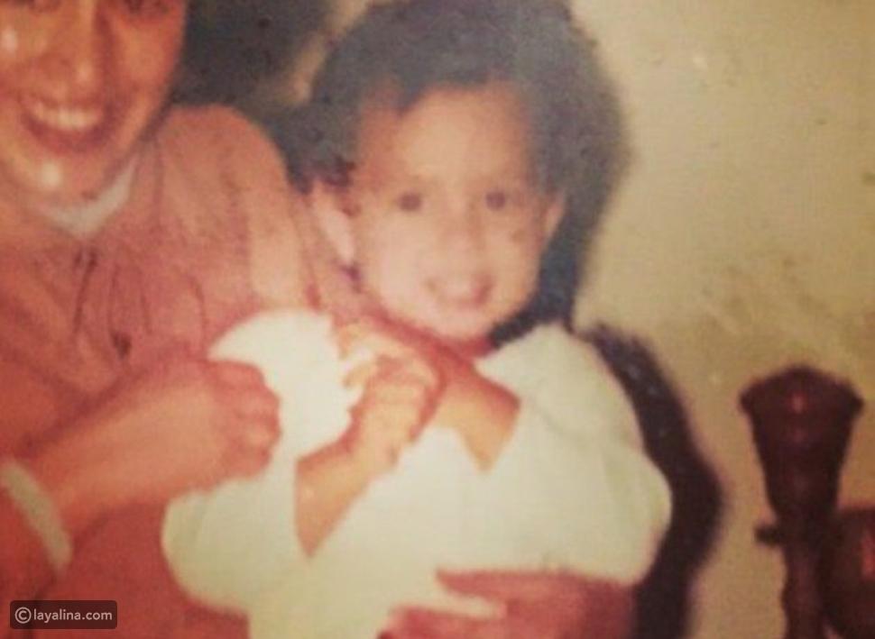 صورة هند صبري من طفولتها فهل تغيرت ملامحها؟