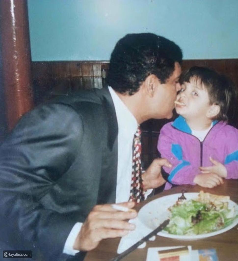 ابنة سامي العدل تنشر صور لابنها ووالدها للمرة الأولى