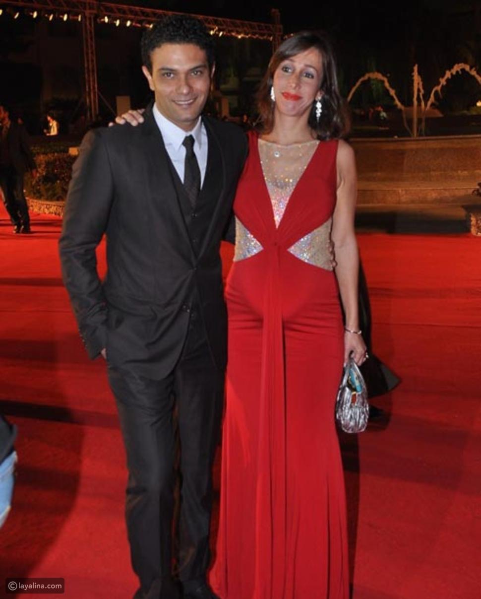 صورة آسر ياسين وزوجته تكشف سر جديد في حياتهما ليالينا