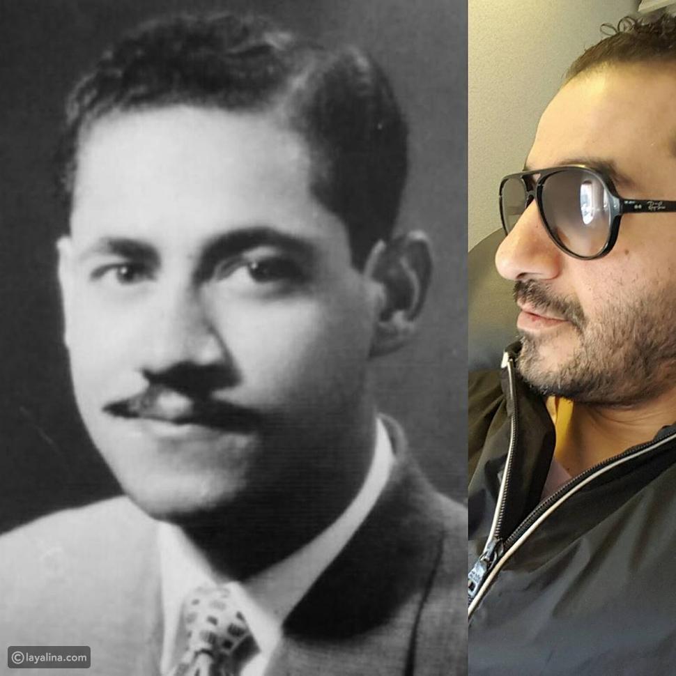 أحمد حلمي ينشر صورة لوالده للمرة الأولى.. ويوجه له رسالة مؤثرة