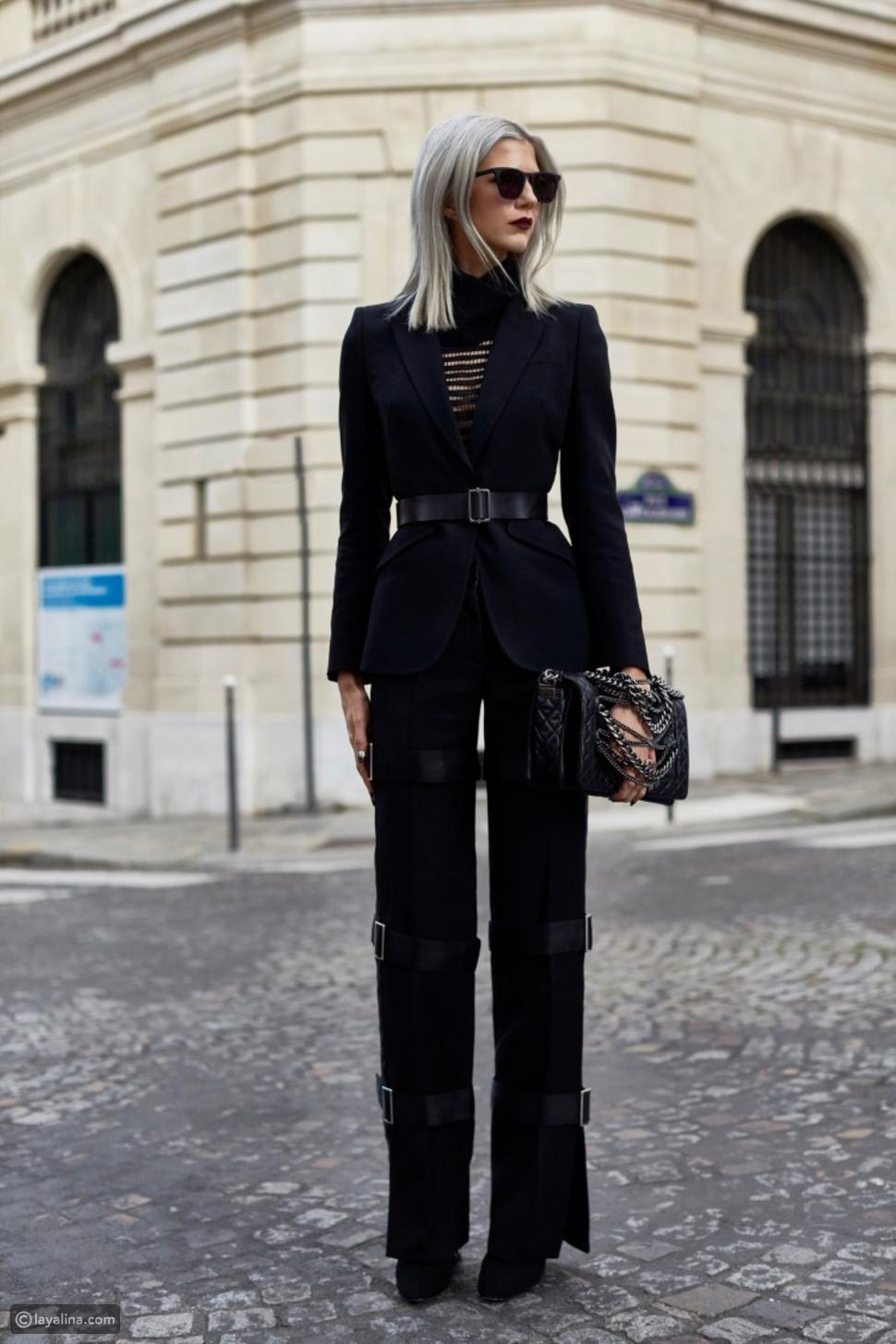 بدلة سوداء
