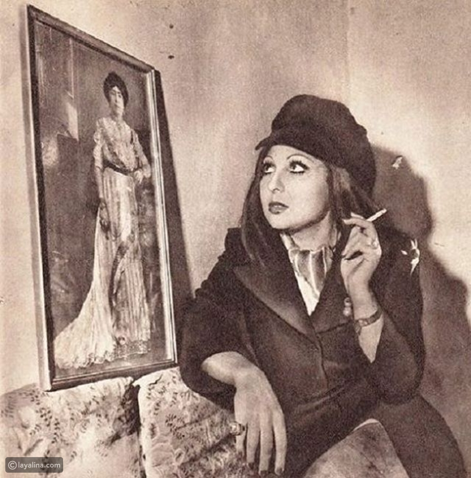 """صور نادرة لنادية الجندي مع """"العالمة"""" التي كانت السبب في شهرتها"""